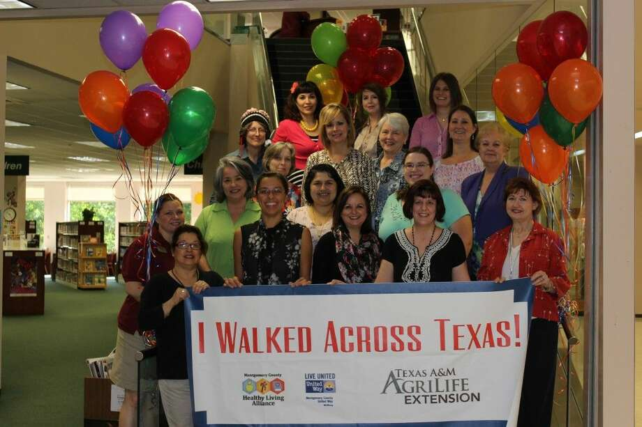 The Lost in Pace team from the Montgomery County Library System took the top spot in the 2015 Montgomery County Walk Across Texas challenge held April 2 through June 2. The library had six teams participating in this year's challenge.