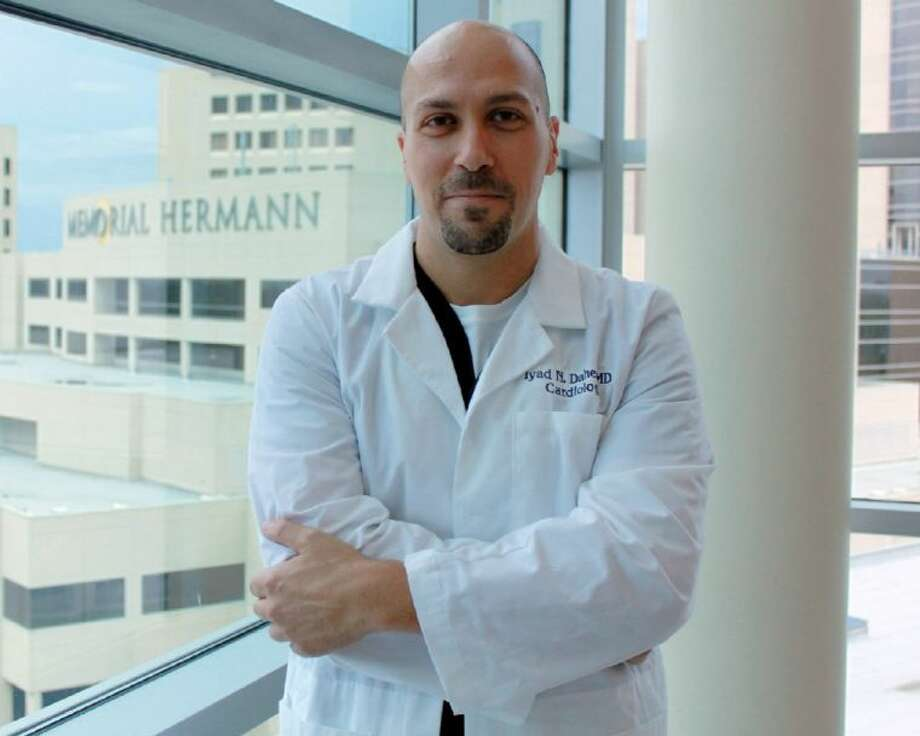 Iyad N. Daher, M.D., medical director of Non-Invasive Cardiology and Cardiac Rehabilitation, Memorial Hermann Heart & Vascular Institute-Southwest