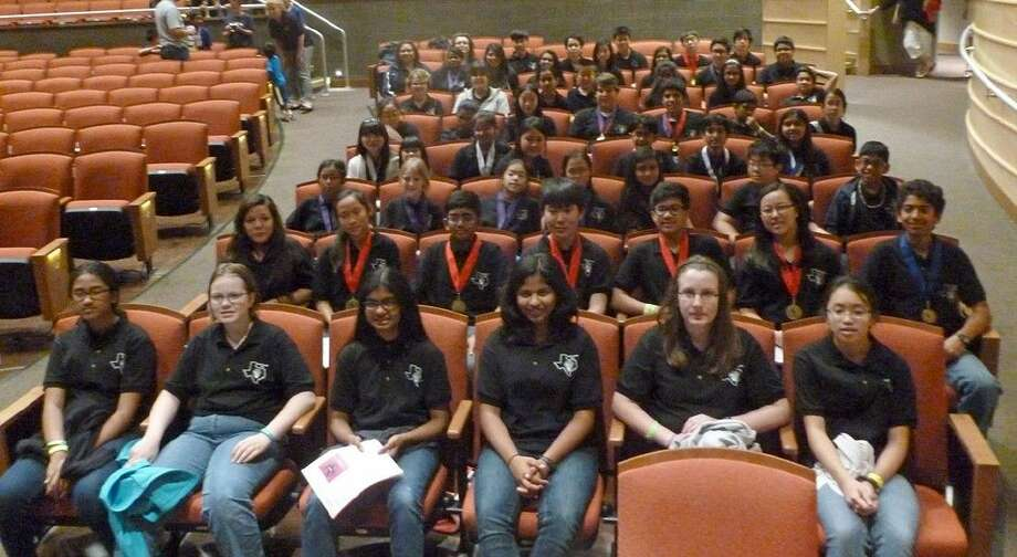 Pearland ISD took 52 students to the Future Problem Solving Program state bowl this year.