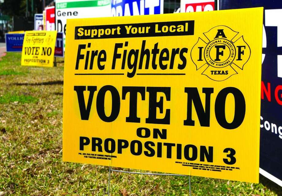 A page-two proposition on the Republican Primary ballot has stirred public opposition from local and state public employees unions.