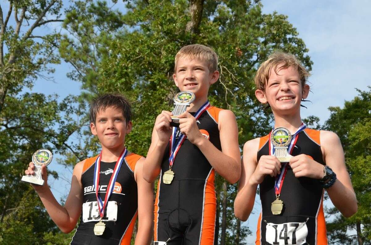 Boys and girls will compete separately in events designed for their age group. Children ages 7 - 9 will swim 50 meters, cycle for 1 mile and run ¼ of a mile. Children ages 10 - 12 will swim 100 meters, cycle for 2 miles and run ½ mile.