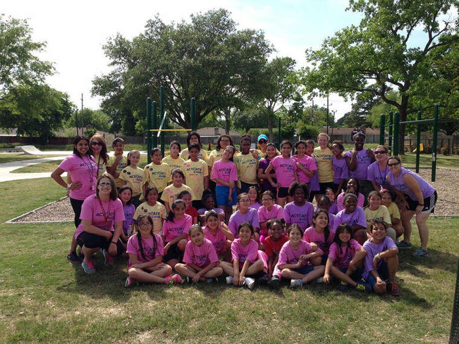 Epps Island Girls on the Run Team.