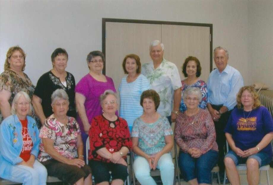 The Crosby Alumni Association Committee members for 2015 are, back row, from left: Paula Webb, Bernice Novosad, Sydney Bollom, Linda and Raymond Martin and Joyce and Bob Boyles. Front row, from left: Linda Welch, Brenda Tuttle, Emma McDonald, Bonnie James, Patsy Spitzmiller and Tricia Meigs.