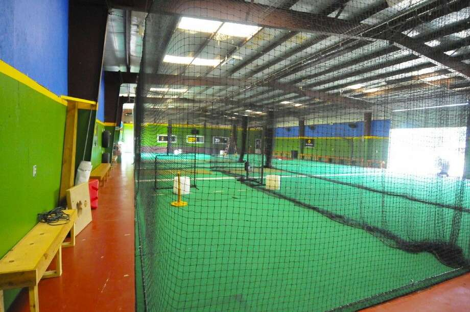 A look inside the Big League Baseball Academy in Tomball. The facility opened in 2005 and is operated by Charlie Hayes, who was a member of the 1996 World Series Champion New York Yankees. Photo: Tony Gaines