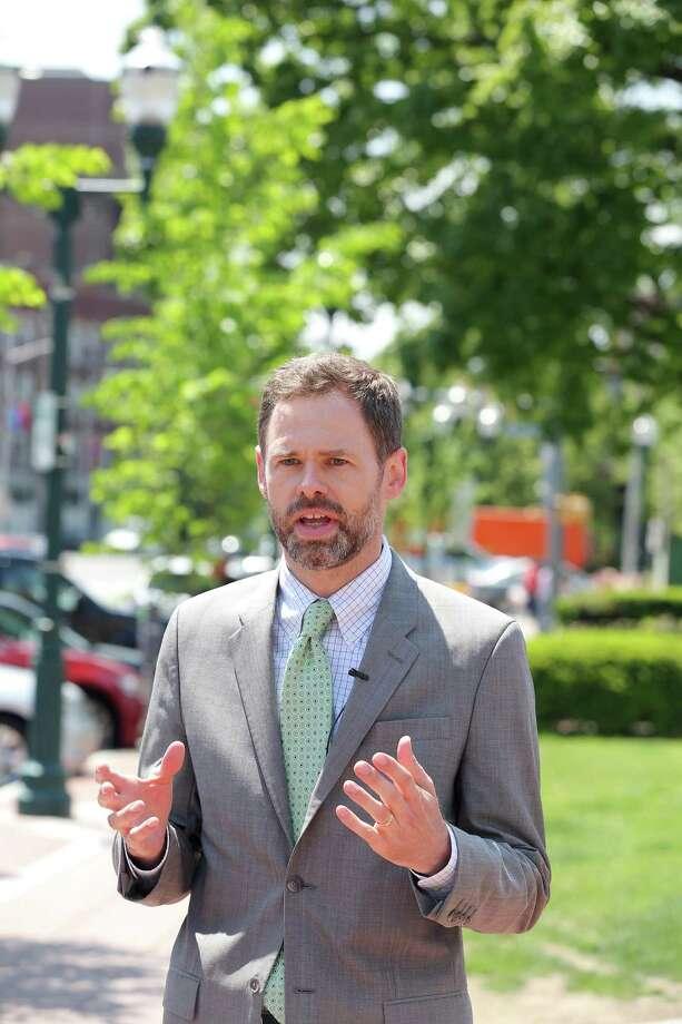 Josh Benson Photo: Michael Cummo / Hearst Connecticut Media / Stamford Advocate
