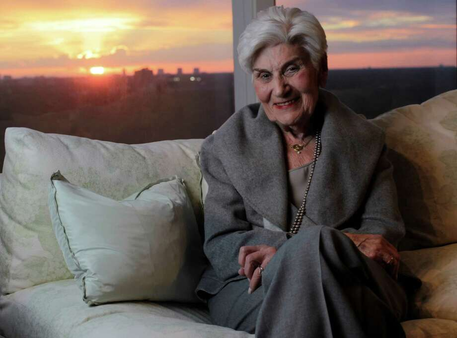 Naomi Warren, a Holocaust survivor, is one of four Houston-area Holocaust survivors who were interviewed by a composer who turned their stories into a libretto called a Kaddish, which was written for the Houston Symphony.  She was photographed in her home, Nov. 10, 2010, in Houston.   ( Karen Warren / Houston Chronicle ) Photo: Karen Warren, Staff / © 2010 Houston Chronicle