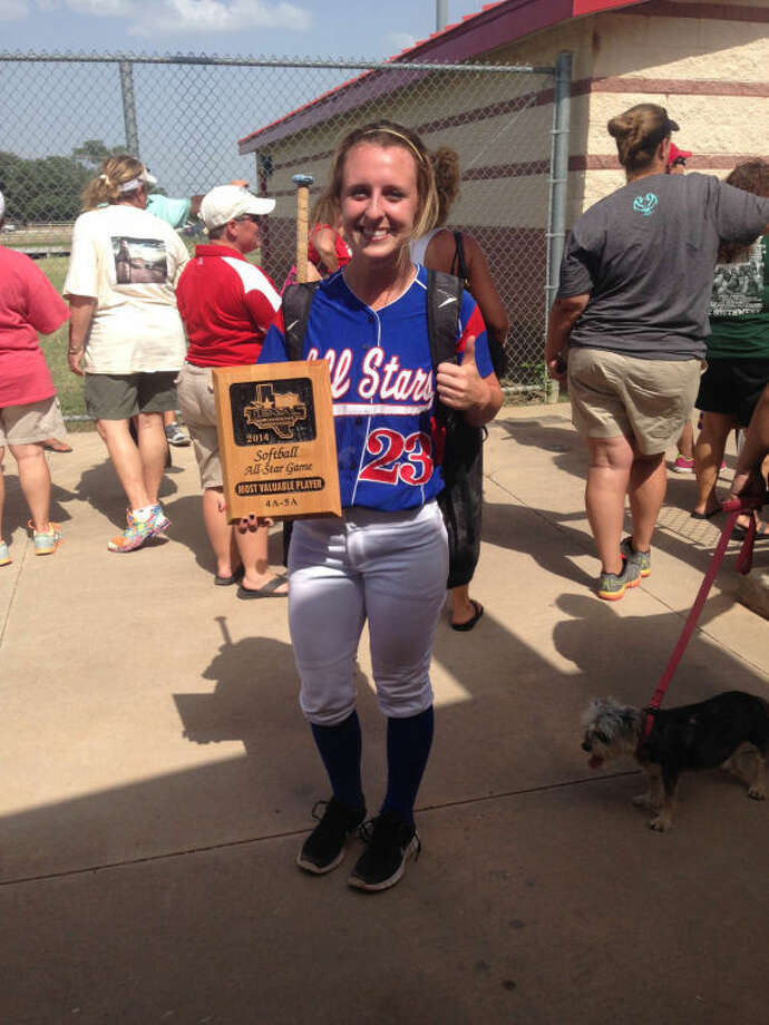 Kingwood's Anna Olejniczak was named the Most Valuable Player at the Texas Girls Coaches Association all-star softball game last weekend. Photo: Submitted