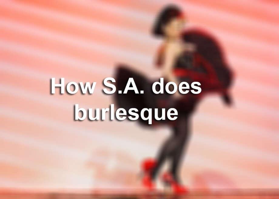 How San Antonio does burlesque Photo: MySA