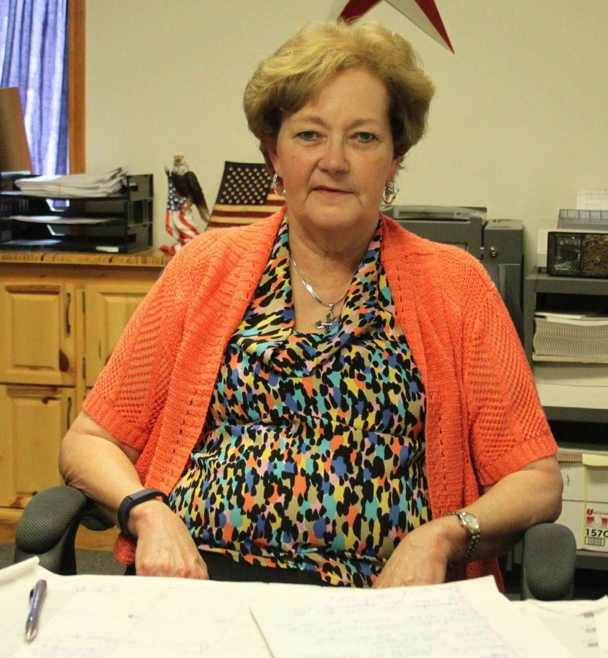 Sherryl Evans is the elections administrator for San Jacinto County. She refuses to quit even in the face of a difficult challenge.