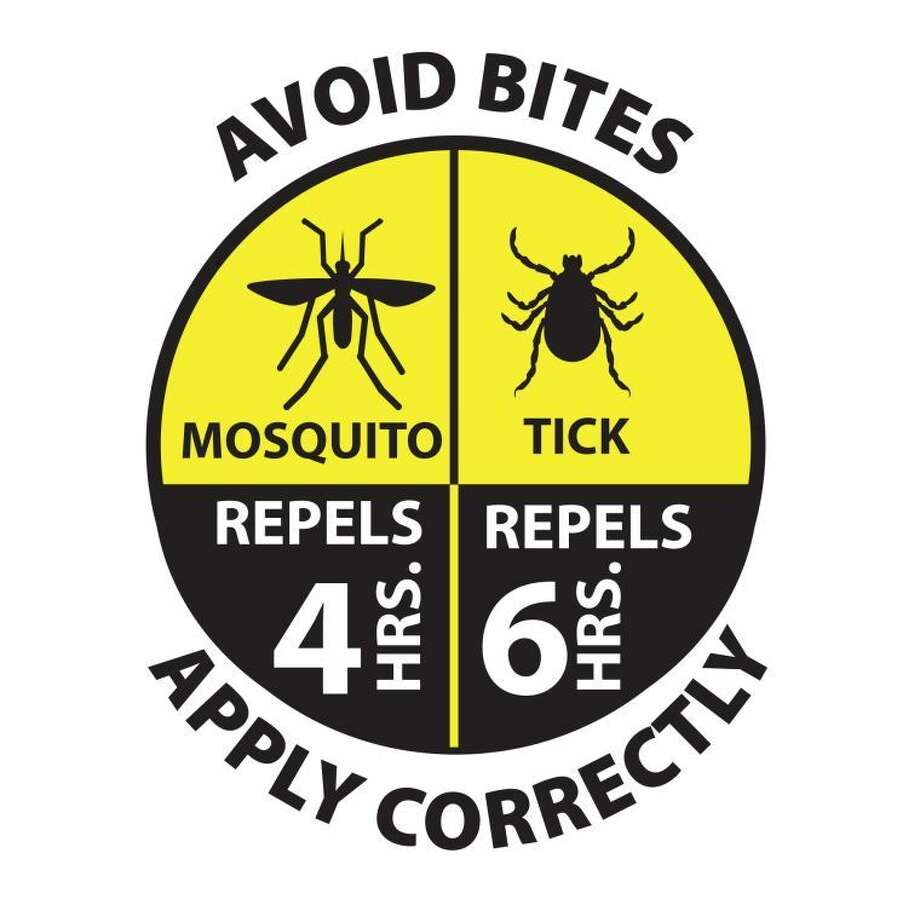 This is an example of the new graphic approved by the EPA to help consumers make better choices about insect repellents.