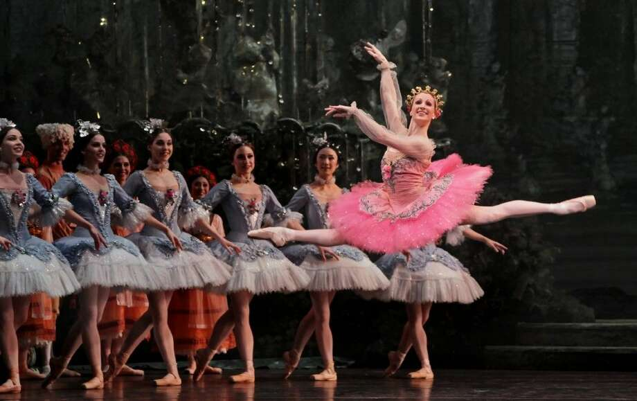 Sarah Webb and the artists of The Houston Ballet perform The Sleeping Beauty. Performances will run Feb. 25 through March 6 at The Wortham Center in Houston. Photo: Courtesy Photo