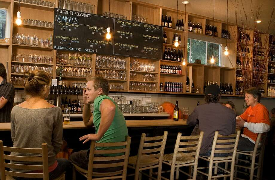 Mill Valley Beerworks is a cozy spot for a brew and beer-friendly, balanced food. Photo: John Storey, Special To The Chronicle