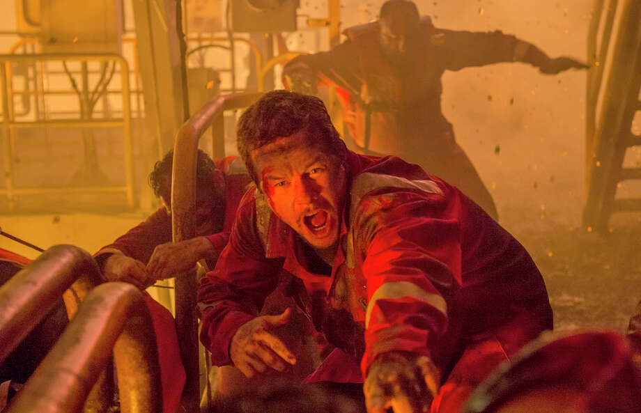 "Mike Williams (Mark Wahlberg) runs for his life in ""Deepwater Horizon."" A professor of petroleum engineering finds inaccuracies in the film. / Summit-Lionsgate Films"