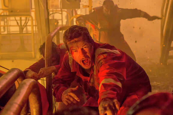 "Mike Williams (Mark Wahlberg) runs for his life in ""Deepwater Horizon."" A professor of petroleum engineering finds inaccuracies in the film."
