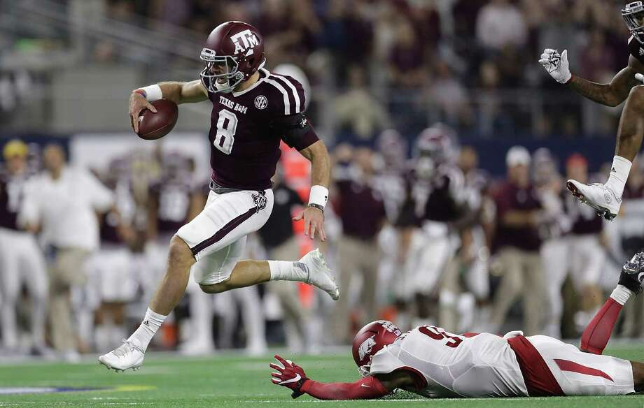 Led by quarterback Trevor Knight, Texas A&M feels better about this season's 5-0 start compared with its last two as it includes victories over two ranked teams, Arkansas and UCLA, and three SEC wins away from home. Photo: Ronald Martinez, Staff / 2016 Getty Images
