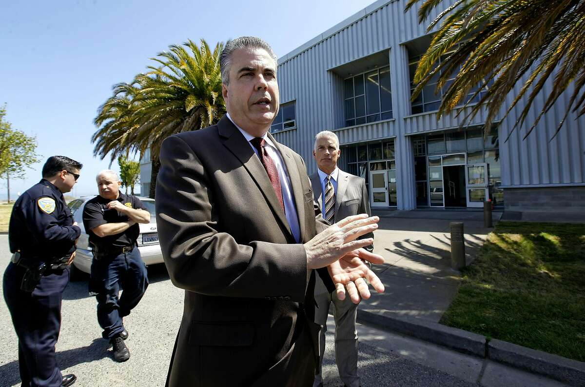 Assistant San Francisco police chief Jeff Godown stands in front of the building that houses the crime lab as well and the evidence warehouse, on Thursday Apr. 8, 2010 in San Francisco, Calif. The City has been at this site for the past 10 years.
