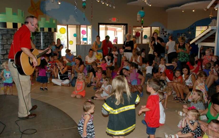 Each year, The Woodlands Children's Museum celebrates going back to school - with one last, big summertime bash. Photo: Picasa