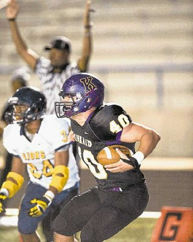 The Kinkaid football team will open the 2014 season Friday, Aug. 29 at undefeated St. Thomas as the Falcons have beefed up their non-conference schedule in hopes of winning its second consecutive SPC Big School championship. Photo: Kevin B Long / ©2013 Kevin B Long. All rights reserved.