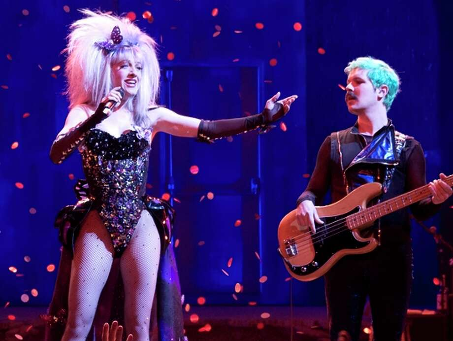 "Lena Hall (left) will perform the title role in ""Hedwig"" once weekly."