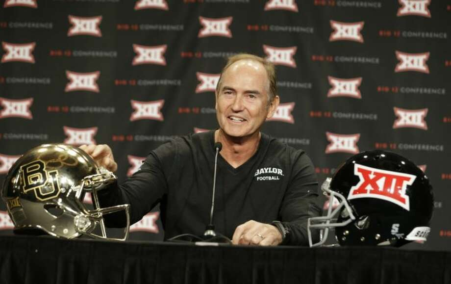 Baylor coach Art Briles guided the Bears to the school's first Big 12 title last season.