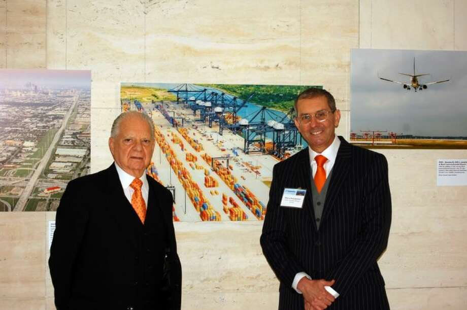 Consul General of Mexico Luis Malpica with H-GAC's Marco Bracamontes