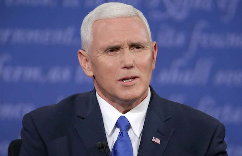 No injuries after plane carrying Mike Pence slides off runway