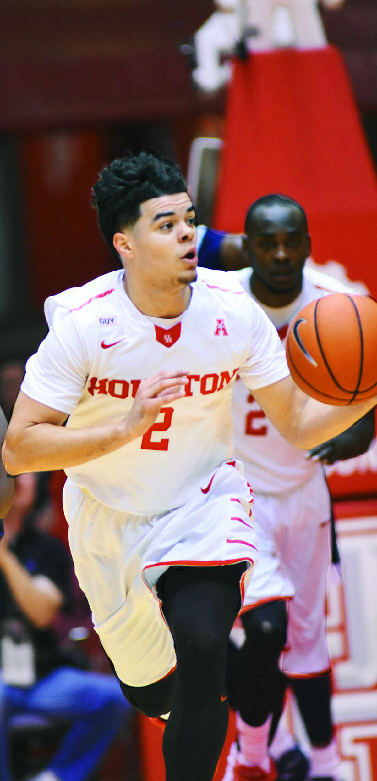 University of Houston sophomore guard Rob Gray, Jr. led the team, and the American Athletic Conference, in scoring this season. He scored a team-high 17 points in the 72-69 loss to Tulane in the AAC Championship quarterfinals.