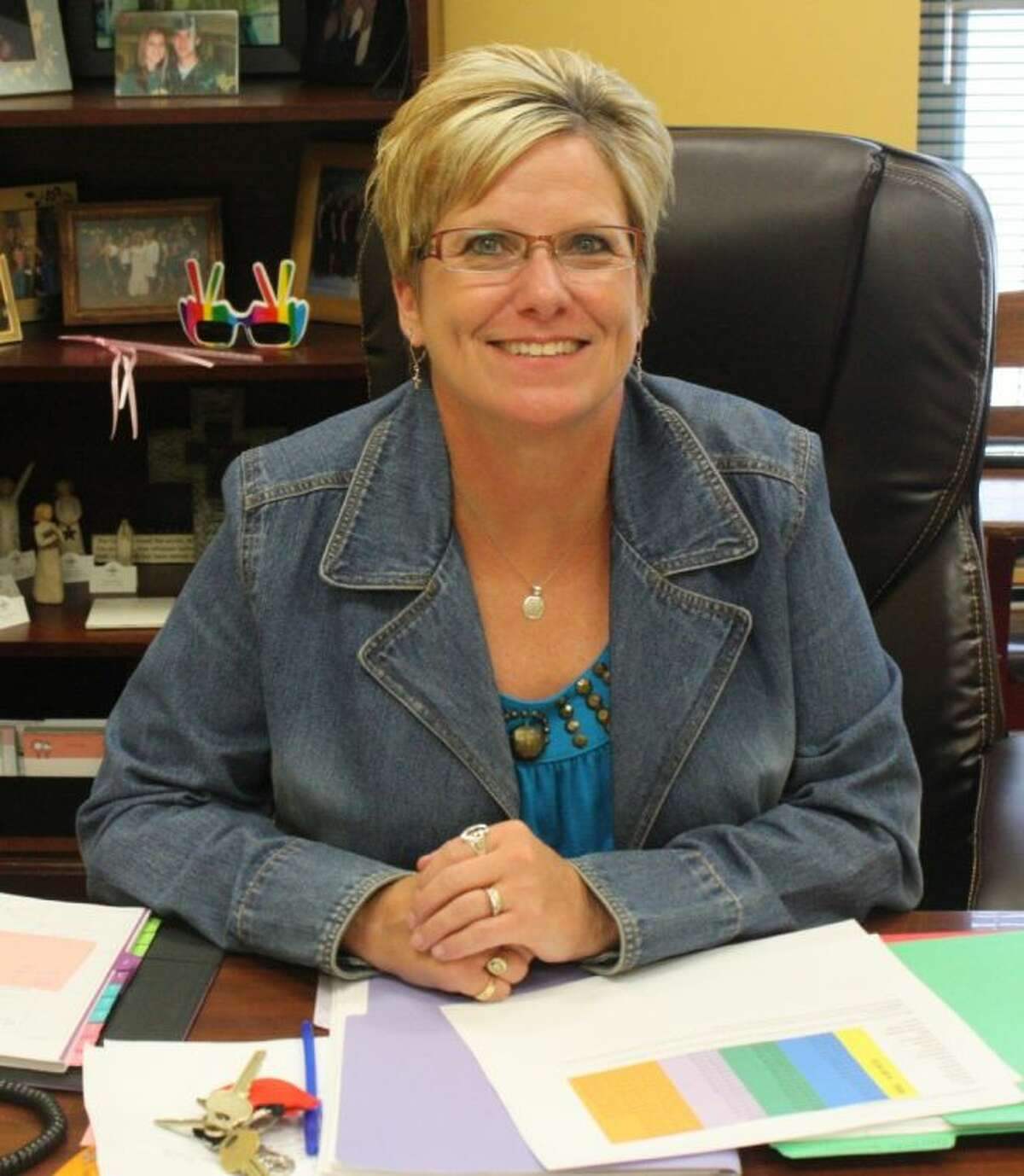 Janie Snyder is the new principal for Southside Primary. She plans to bring passion to the school for everyone who walks through the front doors.