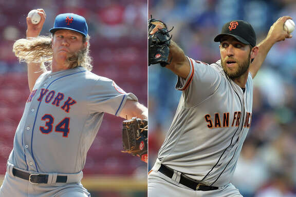 Noah Syndergaard's slider is a tick or two from Madison Bumgarner's fastball.