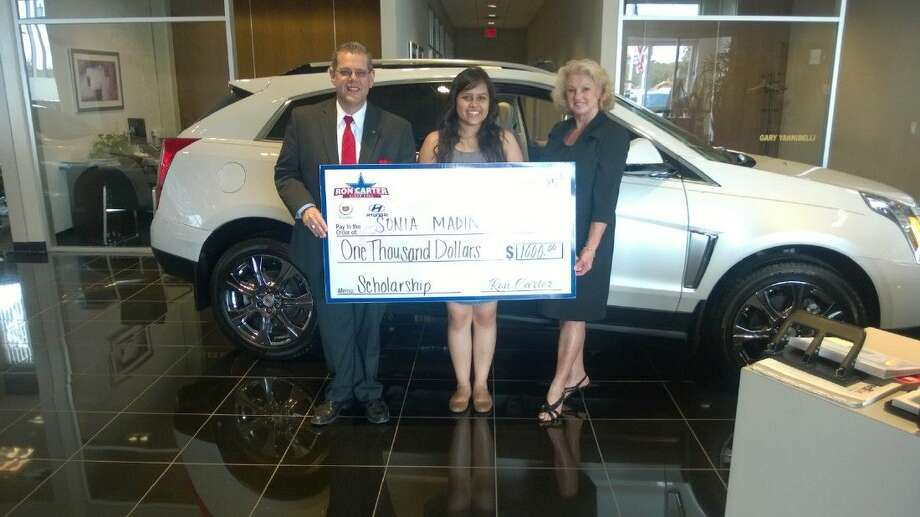 Ron Carter Cadillac >> Latest Recipient Of Ron Carter Cadillac Hyundai 1 000