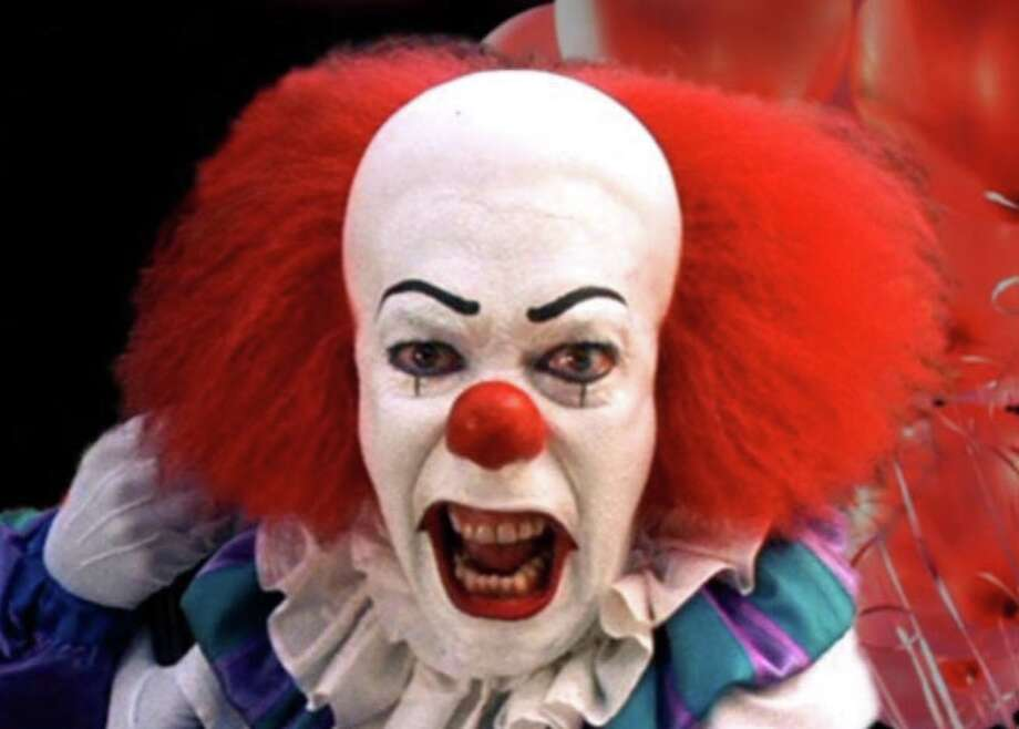 """Pennywise the Dancing Clown from the miniseries """"It,"""" based on the book of the same name by Stephen King. Photo: Contributed Photo / Connecticut Post Contributed"""