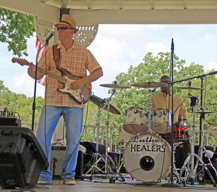Luther and the Healers at Friendswood's Stevenson Park in 2015. Photo: Kristi Nix