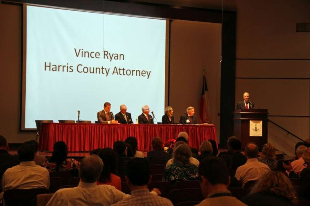 Harris County Vince Ryan recently hosted a program to help educate the local legal and law enforcement community on the rights of the undocumented immigrant children who have been crossing the Texas border in large numbers from Central America.