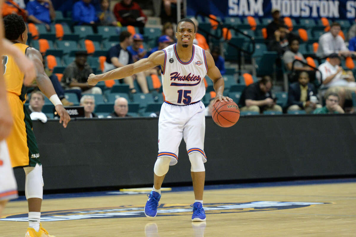 Reveal Chukwujekwu and Houston Baptist University begin College Basketball Invitational play March 16 at UNC-Greensboro. The Huskies are 17-16 including their first trip to the Southland semifinals.