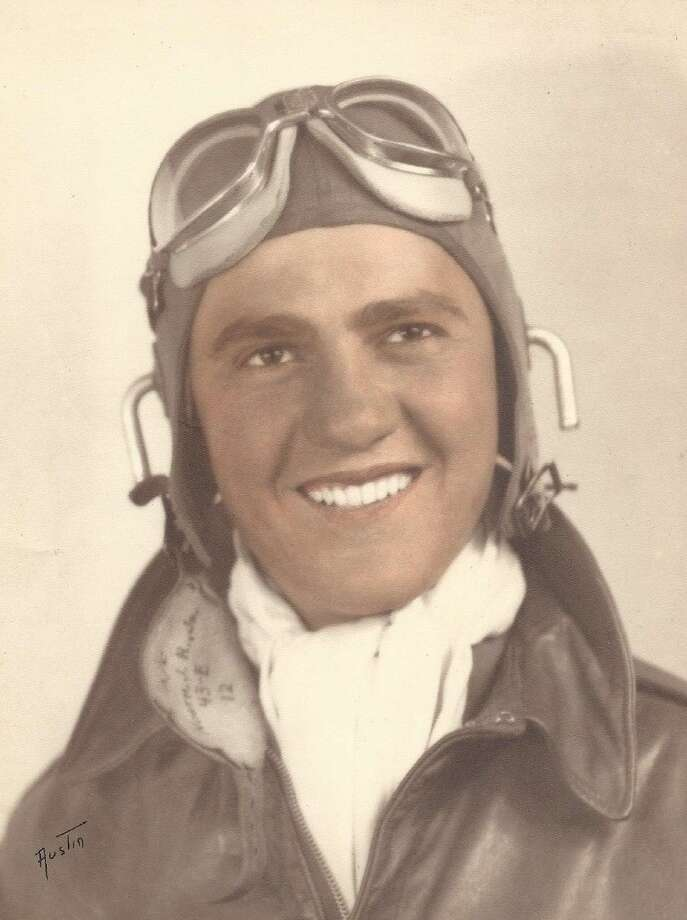 John Wuensche of Cleveland had aspirations of flying for the military during World War II but his talents were needed elsewhere as a German interpreter. Photo: Submitted