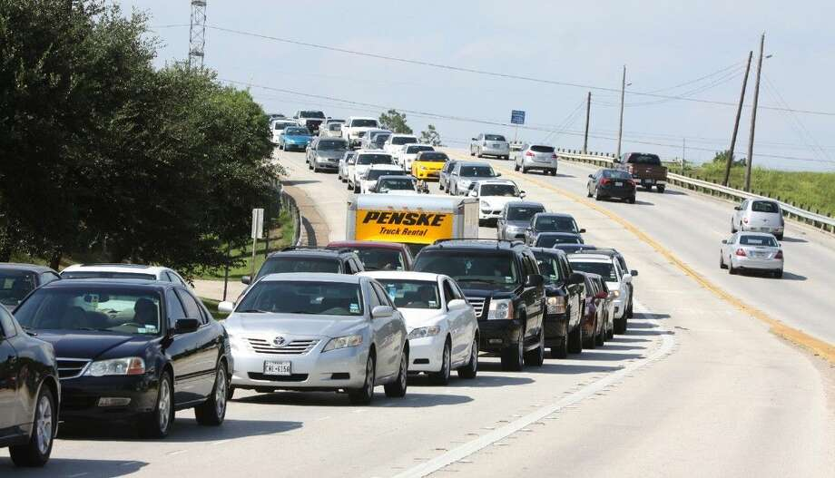 Rush hour traffic backs up on North Eldridge Parkway in West Houston last Friday, Aug. 1. Photo: Alan Warren