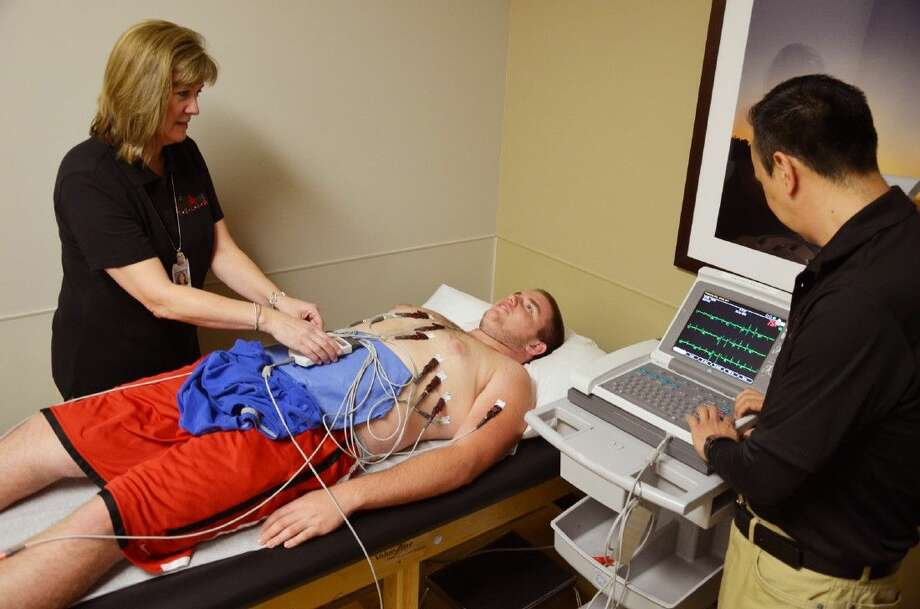 Memorial Hermann The Woodlands Hospital is offering $15 cardiac screenings for students in Grades 7-12 from 8 a.m. to 3 p.m. Saturday at the Memorial Hermann IRONMAN Sports Medicine Institute. Screenings are by appointment only. Call 713-222-CARE (2273) with a student ID number to make an appointment.