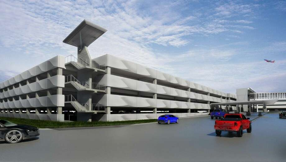 Scheduled to open in late 2015, the garage will add nearly 3,000 spaces to Hobby's parking inventory.