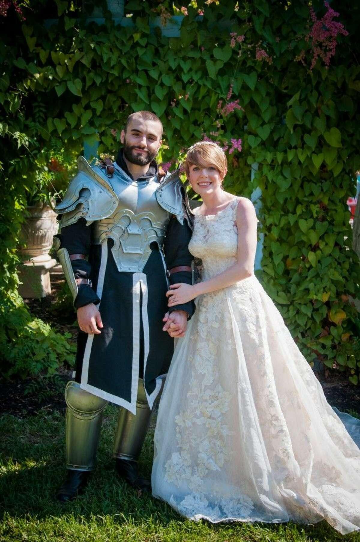 Ariel & Kaellub Carpenter celebrated their dream wedding at the Texas Renaissance Festival in 2015.