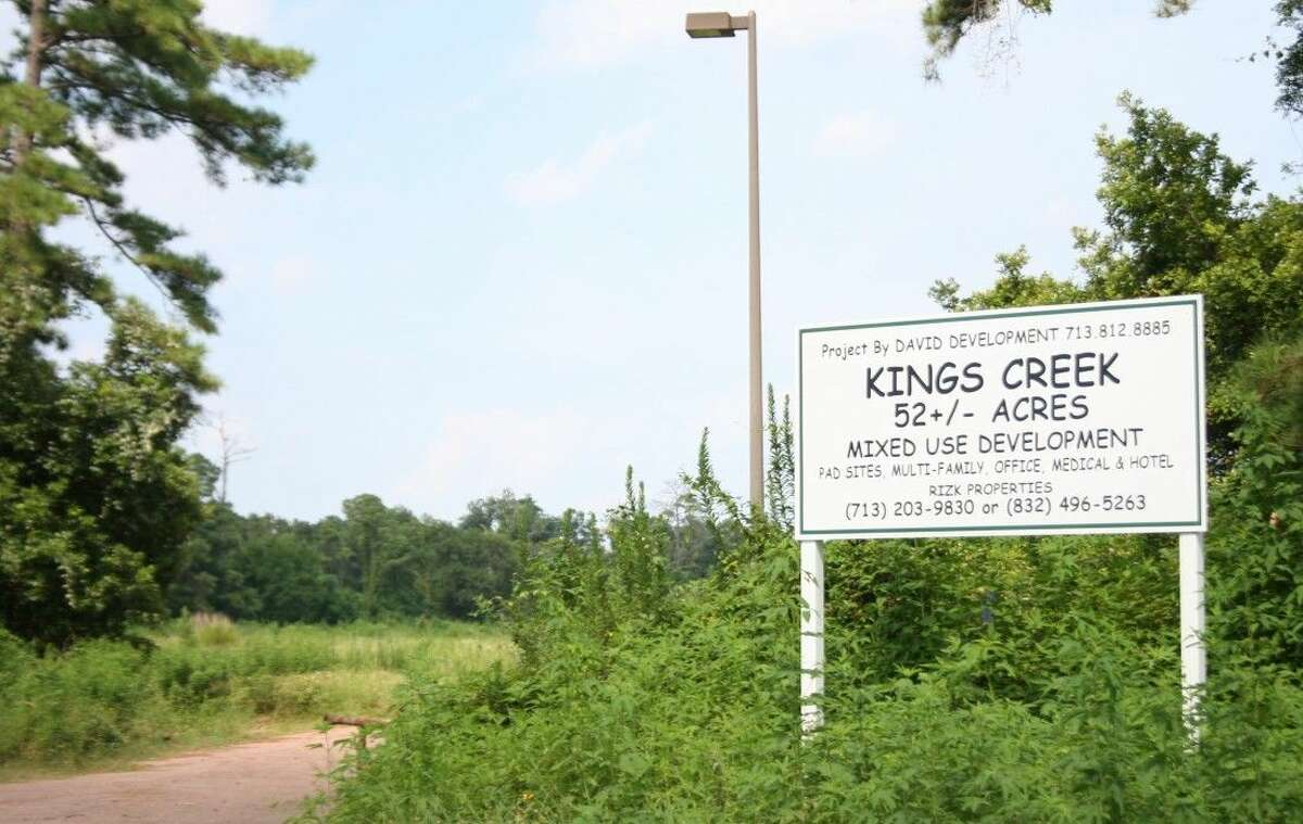 This site on Sorters McClellan Road will be the site of the future King's Creek development.