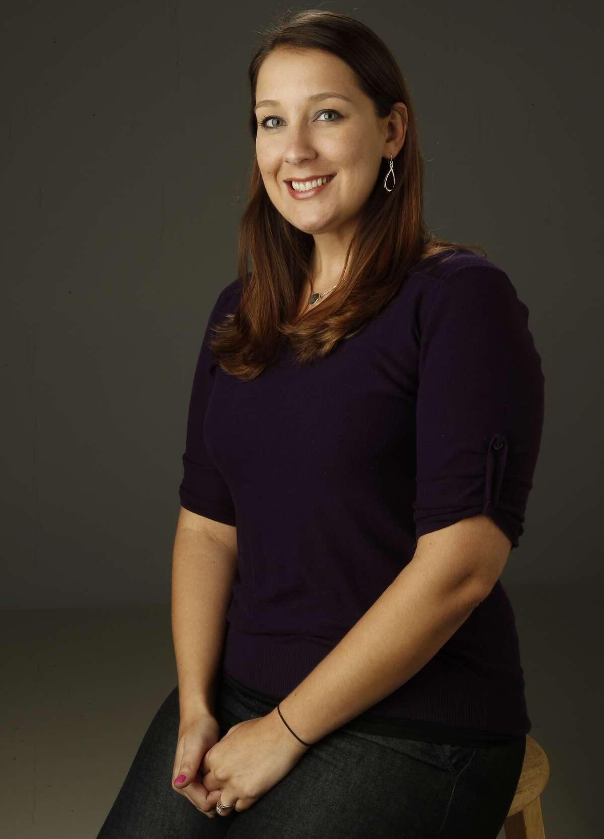 Houston Chronicle sports columnist Jenny Dial Creech