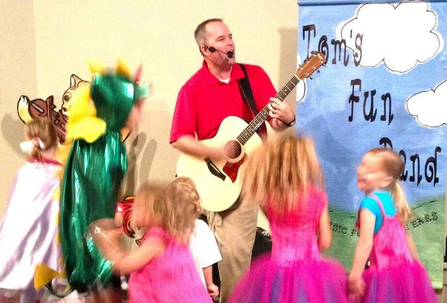 Tom's Fun Band will set the beat to welcome fall by shaking out the summer sillies at The Woodlands Children's Museum on Friday, Aug. 21, 2015.