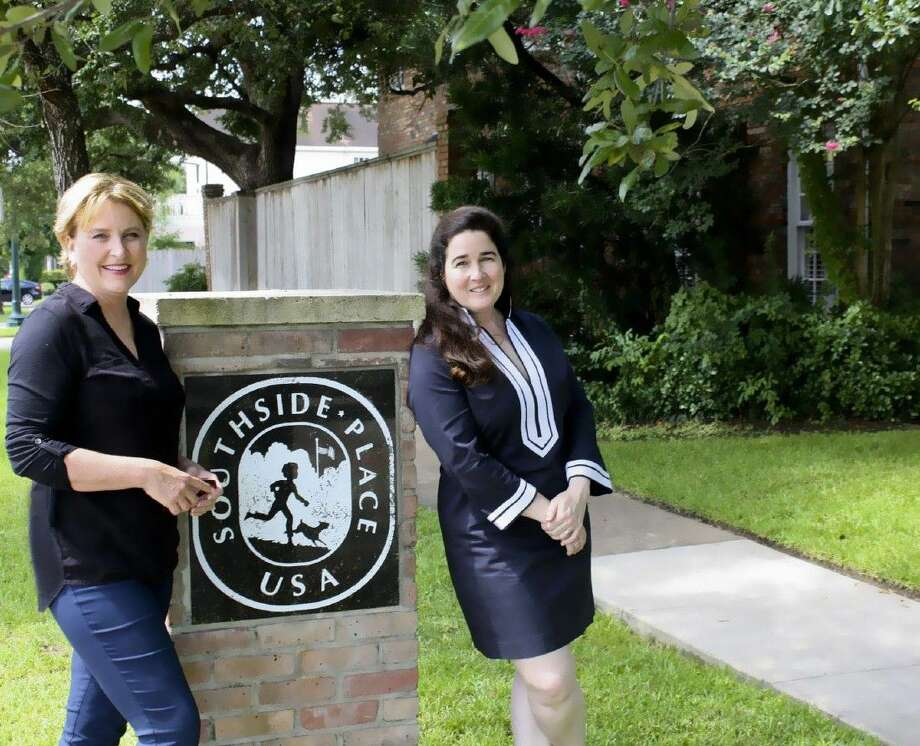 """""""Southside Place"""" authors Kris Holt and Kate McCormick have lived in the community for 20 years and share a passion for history and preservation. The book chronicles the community's transformation from a soggy subdivision on the prairie into an upscale neighborhood."""