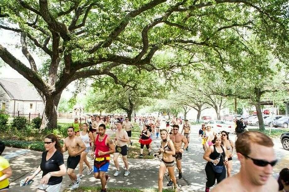 "The 2015 Hot Undies Run coming August 1 raises fund to support ALS research in Houston. Photo: ""Natasha Aaron Greenwood"""