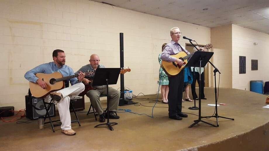 First Presbyterian's 'Celebration' praise band.