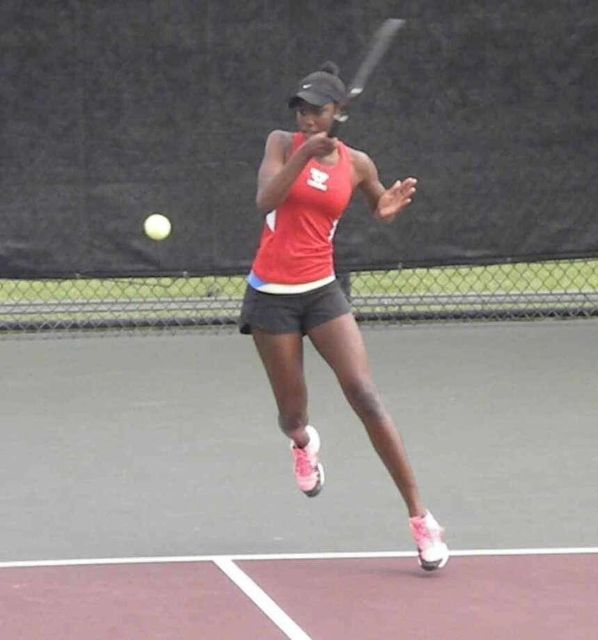Dulles' Marlee Zein reached the Class 6A girls singles championship match as a freshman last year at the UIL state tournament at Texas A&M University. Photo: Submitted Photo
