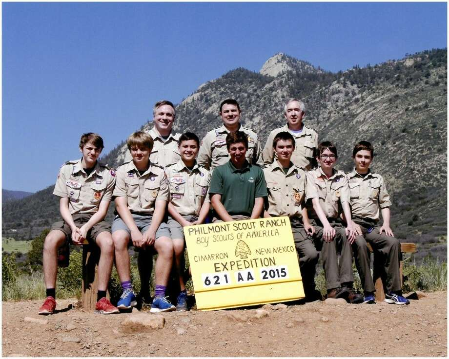 Boy Scout Troop 46 went on a life changing summer trek through the Sangre de Cristo Mountains at Philmont Scout Ranch in Cimarron, New Mexico. Troop 46 is sponsored by St. Luke's United Methodist Church.