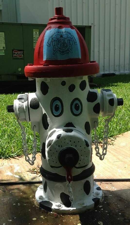 The Art Dwellers and the kids at the City of Friendswood Summer Day Camp came together during the summer to work on art projects and will place fire hydrants in the Friendswood Dog Park.