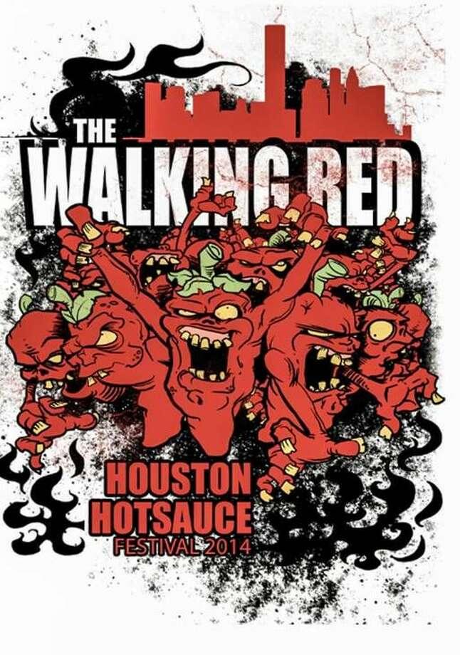 Houston Hot Sauce Festival - The Walking Red