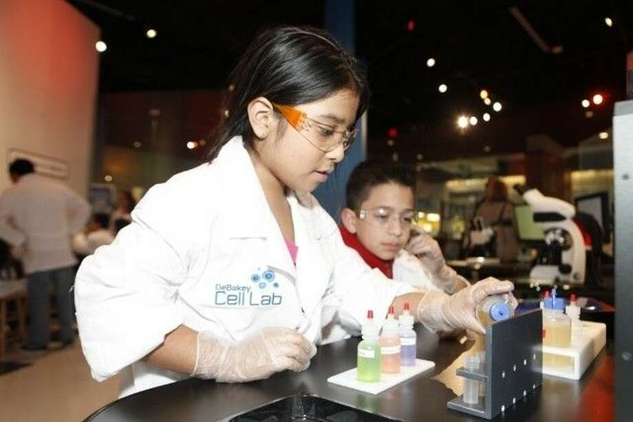 The DeBakey Cell Lab at The Health Museum is a distinct, new kind of museum experience. Honorably named after the respected and accomplished medical pioneer, Dr. Michael E. DeBakey, this bilingual exhibit is designed to introduce biology-based science to the public and inspire future scientists and science-lab leaders in the medical field. Photo: Courtesy Photo